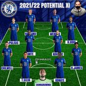How Chelsea Could Lineup Next Season and Win The Treble Next Season