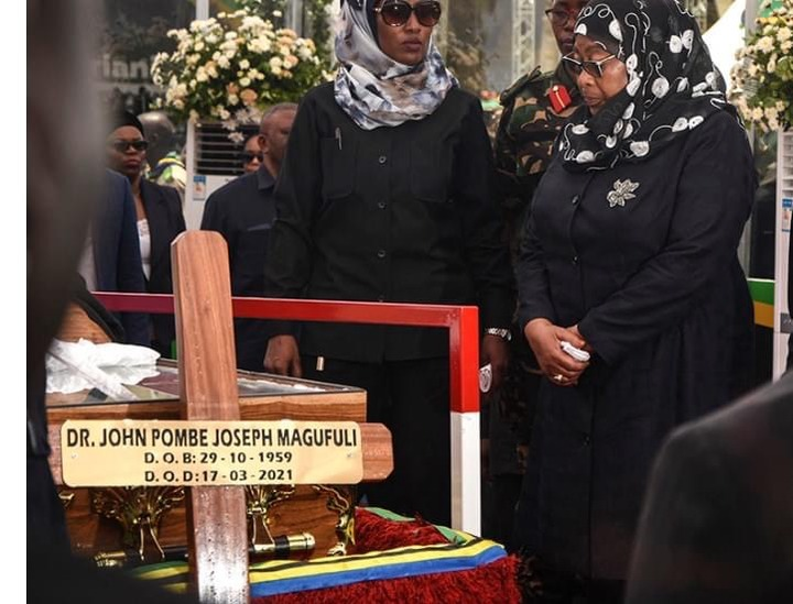 6a57f2f59ea343f59536eb032ede1209?quality=uhq&resize=720 - Day 2: Sad Scenes From Tanzania As Their President, John Magufuli Funeral Rites Proceeds - Photos