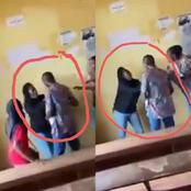 See What This Final Year Student Did To Her Lecturer After He Stopped Her From Writing Exam (VIDEO).