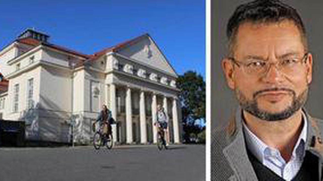 Greifswald: Dirk Löschner vom Theater Vorpommern nimmt Abschied