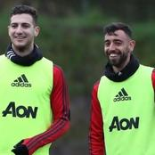 Bruno Fernandes and Diogo Dalot exchange messages Ahead Of Europa League Clash.