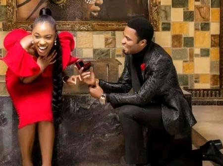 Photos: Popular man of God, Apostle Mike Orokpo finally proposes to his fiancée. See his wedding date