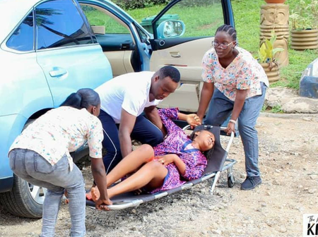 Femi Adebayo Share Location Pictures of New Nollywood Movie Titled
