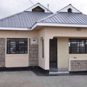 Look at how you can build a 3- bedroom house with only Ksh 500,000.