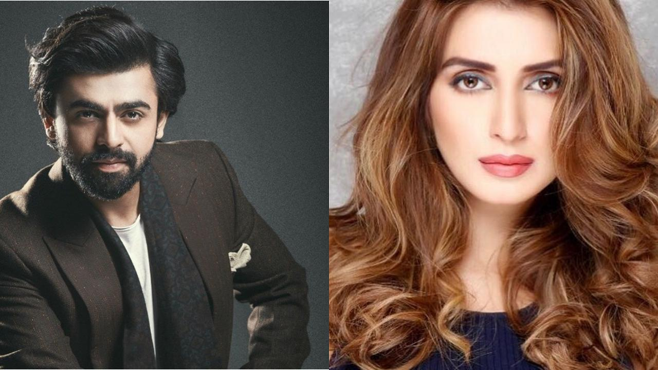 Farhan Saeed, Iman Ali give royal vibes in latest photoshoot