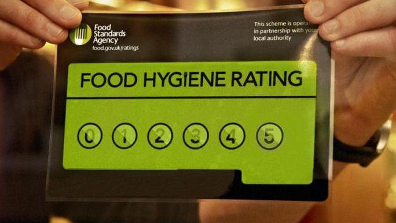 East Lancashire: Food Standards Agency findings on best and worst hygiene ratings