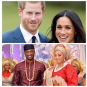 Reactions As People Celebrate Peter Okoye For Being Solidly Behind His Wife Like Prince Harry