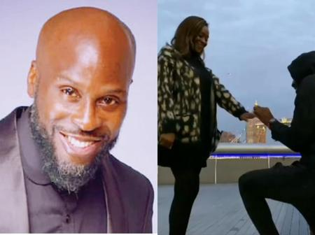 Popular Nigerian Rapper, Ikechukwu Proposes To His Girlfriend (Video)