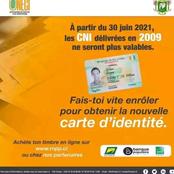 Les anciennes cartes d'identité délivrées en 2009 ne seront plus valables après le 30 juin