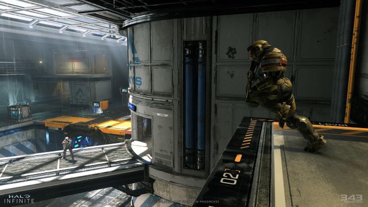 Des informations mensuelles sur Halo Infinite