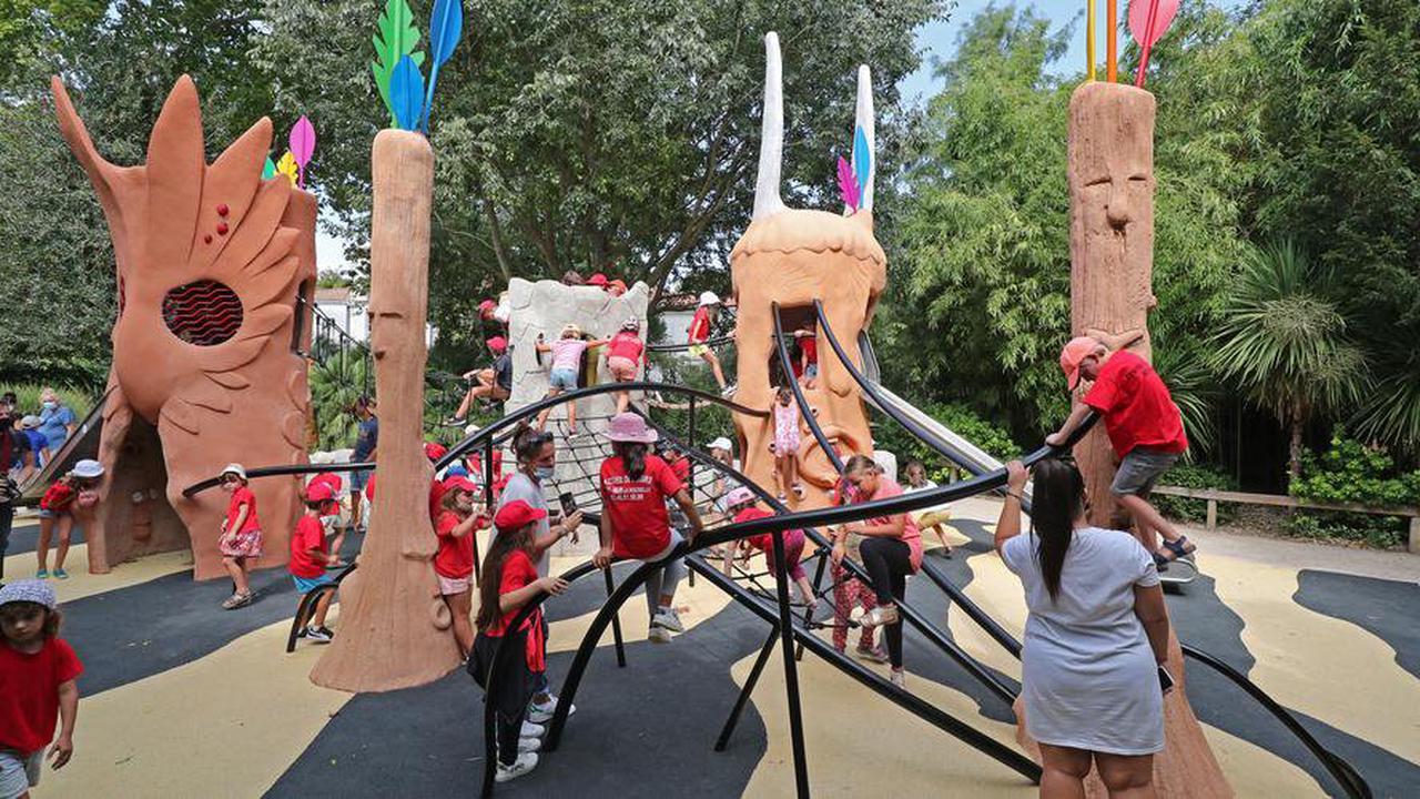 LaRochelle: une nouvelle aire de jeux pour enfants au Jardin des plantes