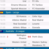 4 Analysed Matches To Stake On