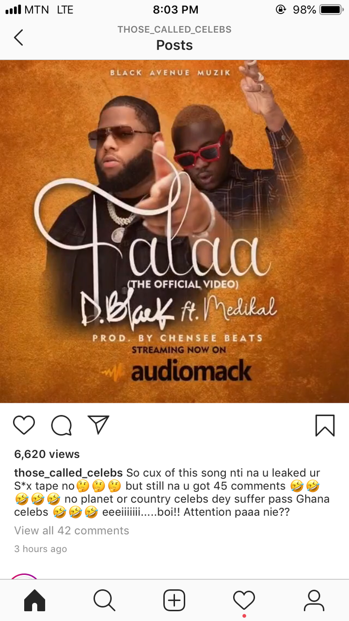 6aca1f944c435d049cf22b4fc8a5edac?quality=uhq&resize=720 - Is this Why You Leaked Your Own Video? Ghanaians Ask D-Black After Releasing A Song Day After His Leaked Video