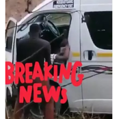 See what this Taxi driver was caught doing with a lady near the road that got people talking.