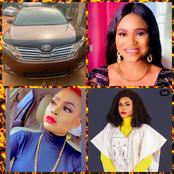 Adeniyi Johnson And Others Congratulate Actress Gbadebo Fisayo As She Buys New Car (Photos)