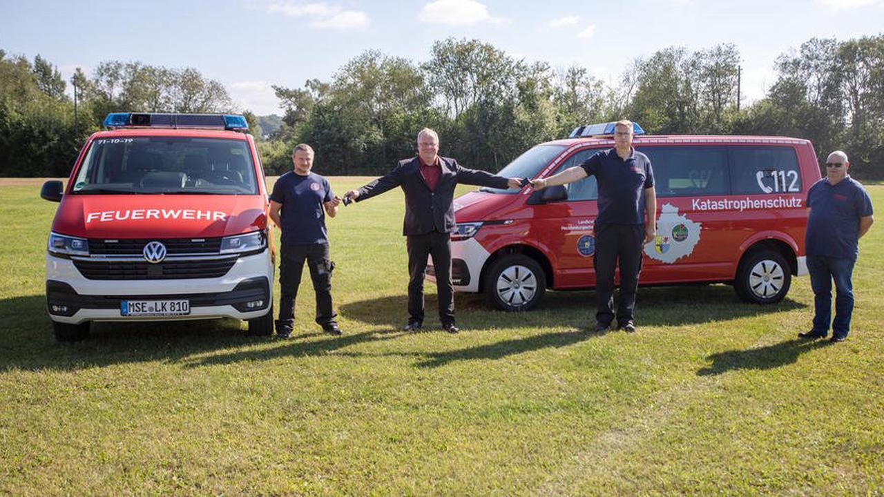 Neue Feuerwehr-Busse für die Wasser-Rettung