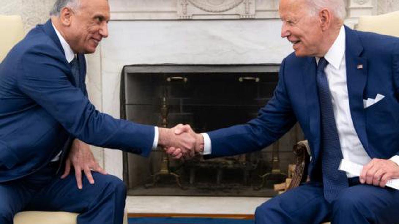 """Biden annonce une """"nouvelle"""" phase dans la relation avec l'Irak, sans bouleversement majeur"""