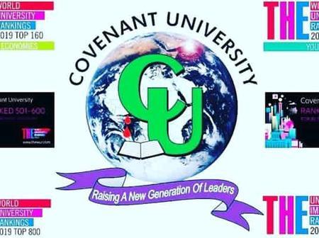 Covenant University deadline for Sale of Post Graduate Form 2020/2021 Admission Exercise