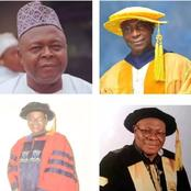 Meet One Of Nigeria's most educated family with 9 Professors and 7 PhD Holders.