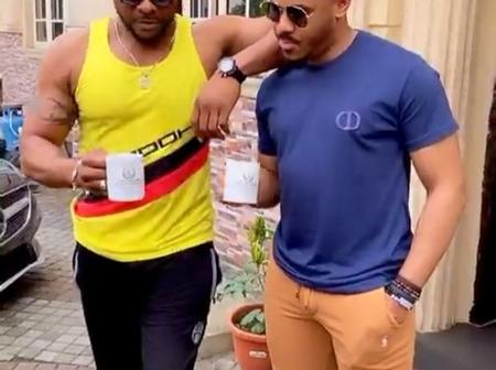 Reactions As Nino And Ozo Were Spotted Together Chilling In A Video On Instagram