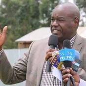 Kositany Breaks Silence After His Expulsion From Jubilee Party