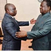 Pour la paix en Côte d'Ivoire, le président Henri Konan Bédié a reçu le ministre KKB ce vendredi