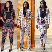 10 suited up Ankara styles for work inspiration.