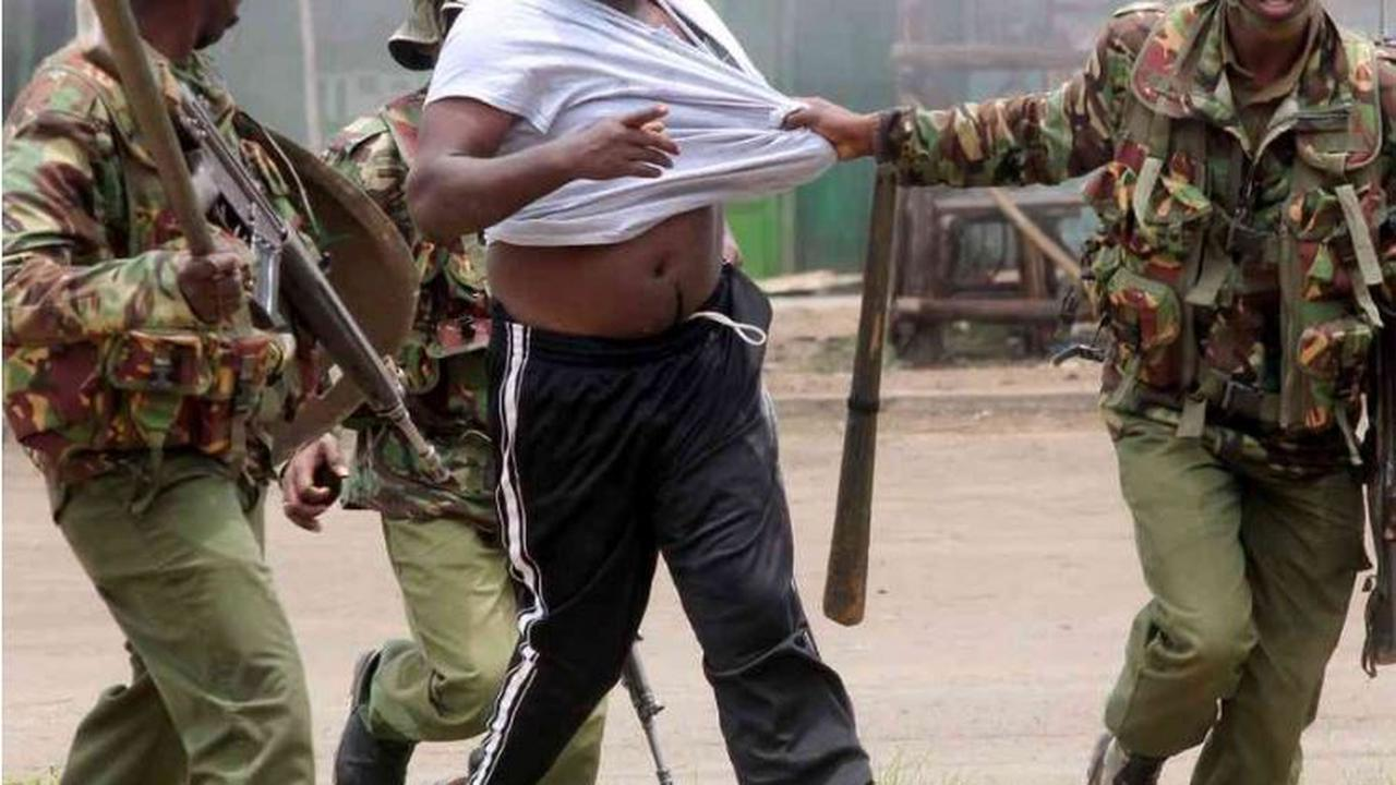 Nairobi-CBD Drama as Police Officers Try to Arrest a Team of KDF Soldier, AP and Prison Warden