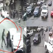 New burglary stunt : Driver ransacked on Corner President and Piece Roads, JHB CBD