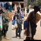 Remember The Guy That Was Roaming About The Streets In Tattered Dress, See His Real Face