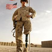 Photos of Soldiers That Lost Their Legs in Battles But Are Still Fighting With Artificial Legs