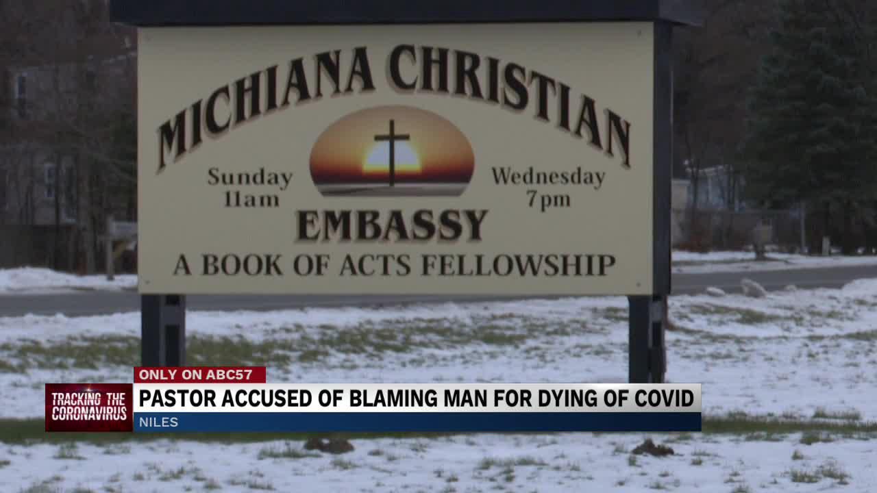 Family accuses pastor of seemingly blaming parishioner for COVID-19 death