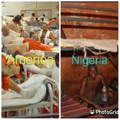 See Photos Of Prison In Nigeria And America (Photos)