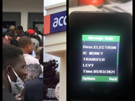 Nigerians Rejects New Electronic Transfer Levy On Bank Transfers