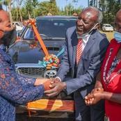 See What Gift Rachel Ruto Gave To Her Primary School Headteacher
