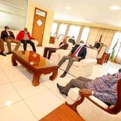 Kenyans Expressed Their Happiness After 'Baba' Hosted A Church Delegation At His Home In Karen