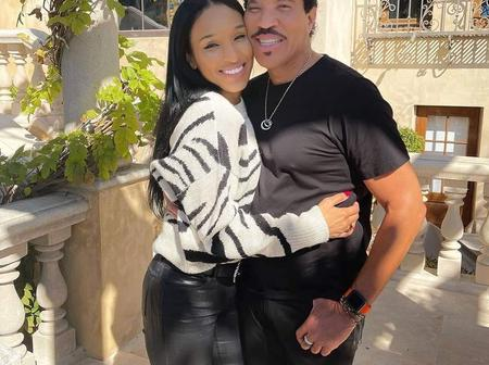 Lionel Richie with his Girlfriend. He is 71 and she is 30. See Pictures