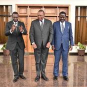 Political Game: Raila Odinga Being Hunted by Uhuru And Ruto