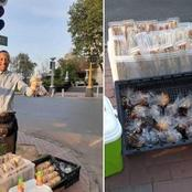 Young Man Makes R20 000 A Month For Selling Sandwiches And Muffins On The Streets