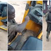 Little boy whose parents died and couldn't go to school becomes a mechanic to survive