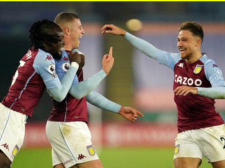 Aston Villa win the opening four consecutive games