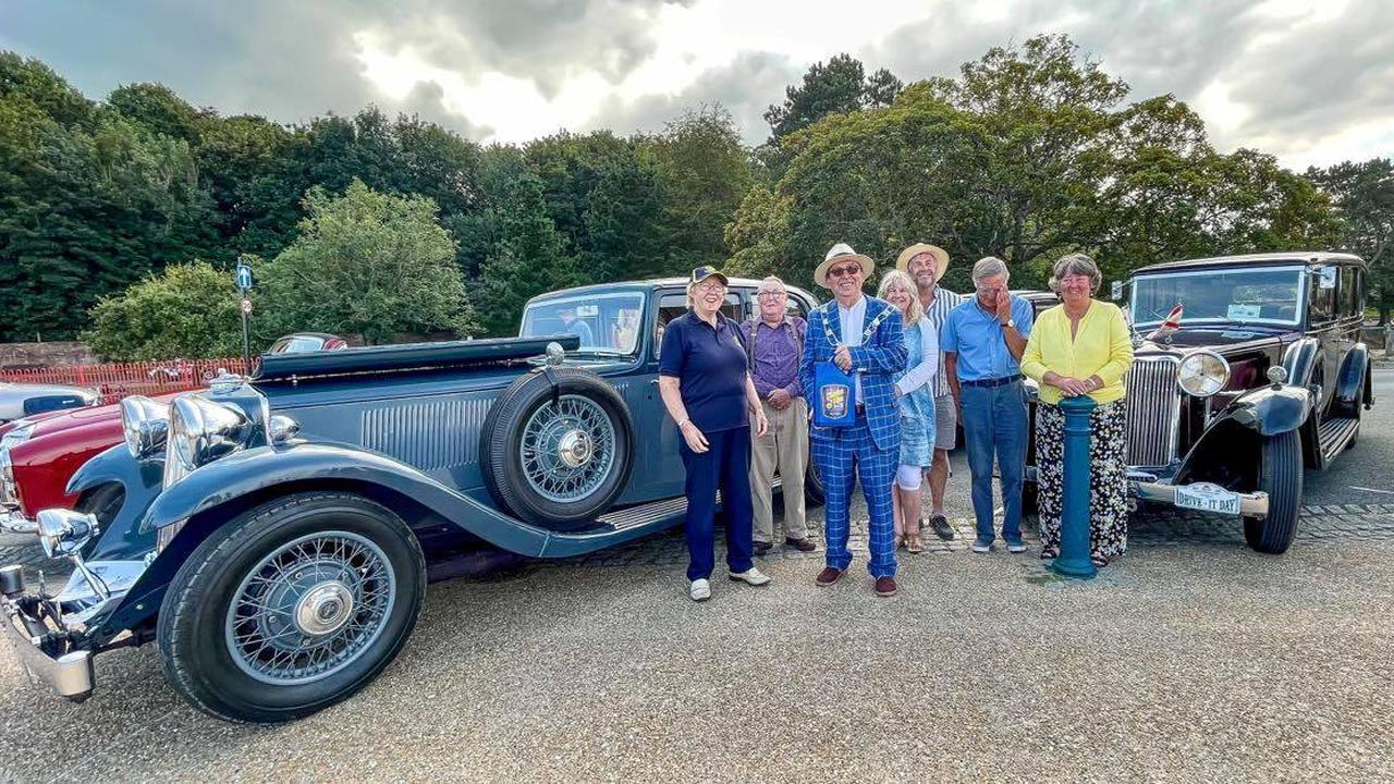 PHOTOS Isle of Wight classic car extravaganza winners