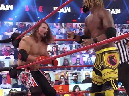 Lagos-born WWE Wrestler Sidelined as Kofi Kingston Beats AJ Styles