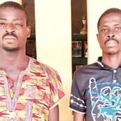 These Two Men Have Been Arrested By Ogun State Policemen, Read What They Did To A 16-Year-Old Girl.