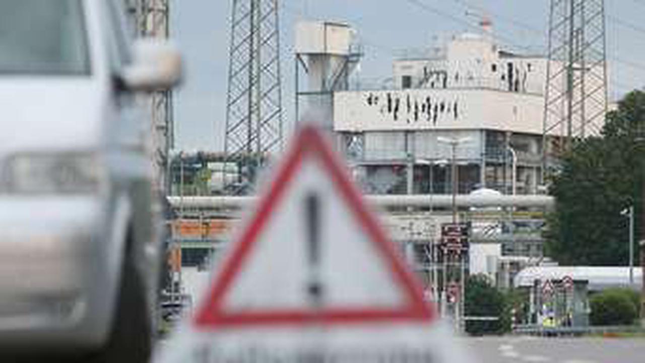 Chempark-Explosion: Abfälle aus Agrar-Chemie-Produktion