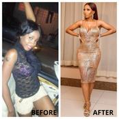 5 Nigerian celebrities that have proudly spoken of their body transformation.