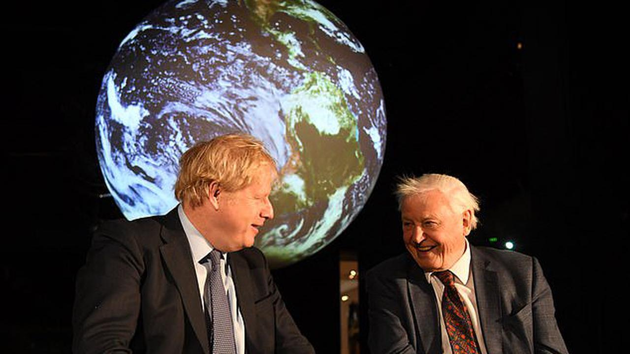 David Attenborough unveiled as People's Advocate for COP26 climate change summit