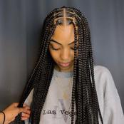 15 Styling box braids you wished you saw earlier (Photos)