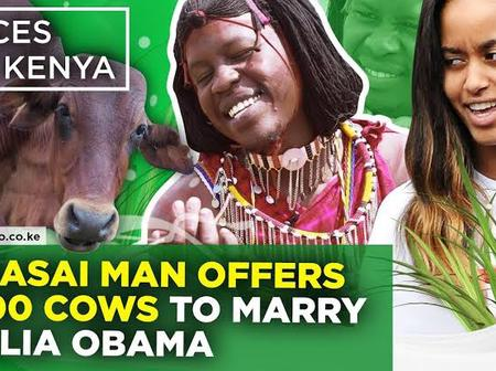 Maasai Moran Who Wanted To Marry US President's Daughter Malia Obama Is Finally A Happy Man