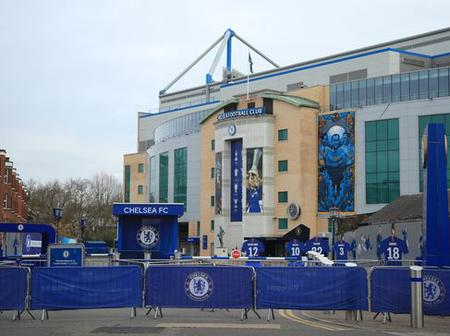 Chelsea removes the names of two Chelsea legends from Stamford bridge